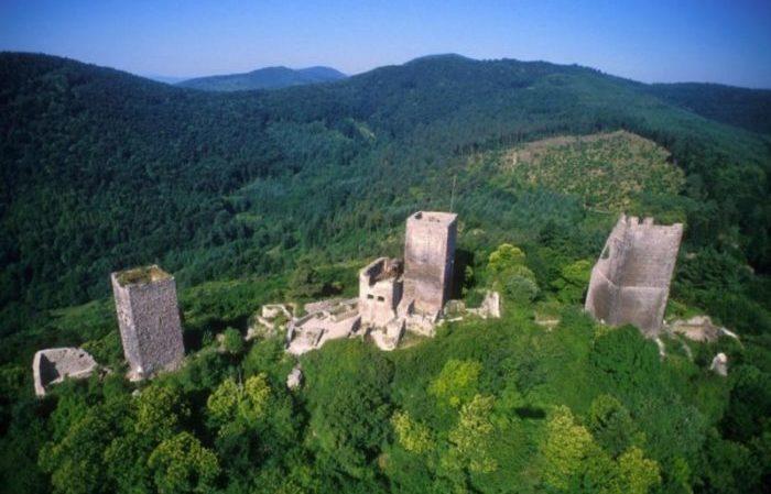 Chateaux Alsaciens